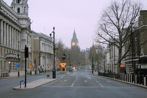 Deserted Whitehall